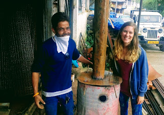 volunteer-program-for-professionals-lauren-chemical-engineer-sanitation-biochar-educare-india-ngo