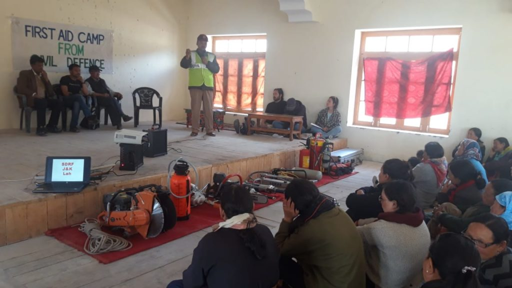 Disaster and Emergency-Preparedness-First-Aid-risk-reduction-leh-ladakh