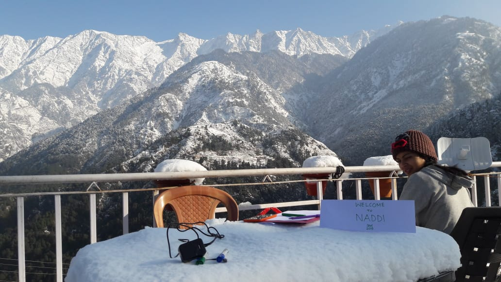 Digital Communications may get restricted in winter months for the interns staying in Naddi due to possible power and internet connectivity issues in the snow times.